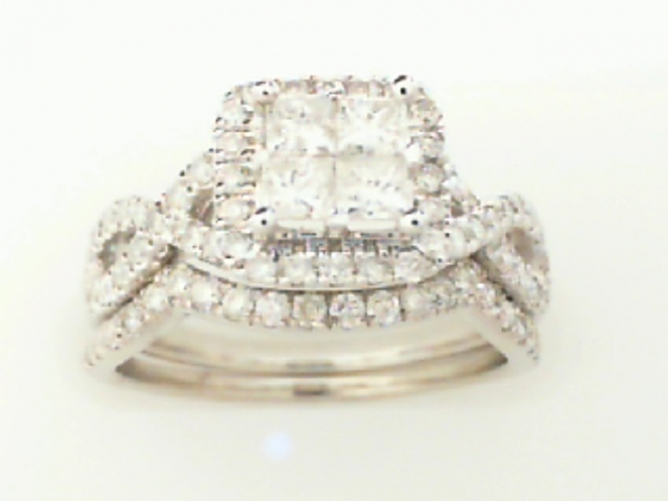 DIAMOND ENGAGEMENT AND MATCHING WEDDING BAND by SK Diamonds